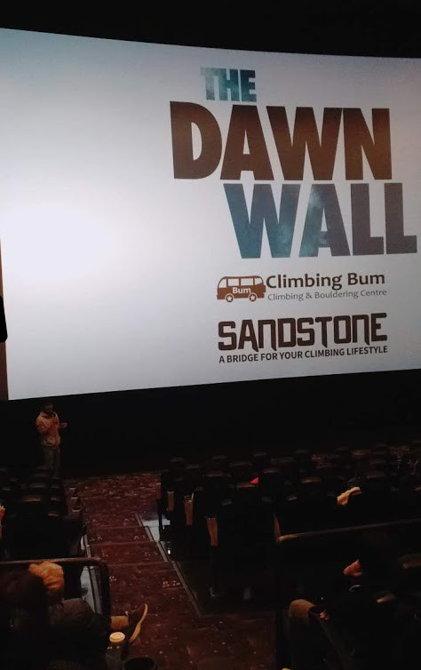 """クライミング映画""""THE DAWN WALL""""を観てきた"""