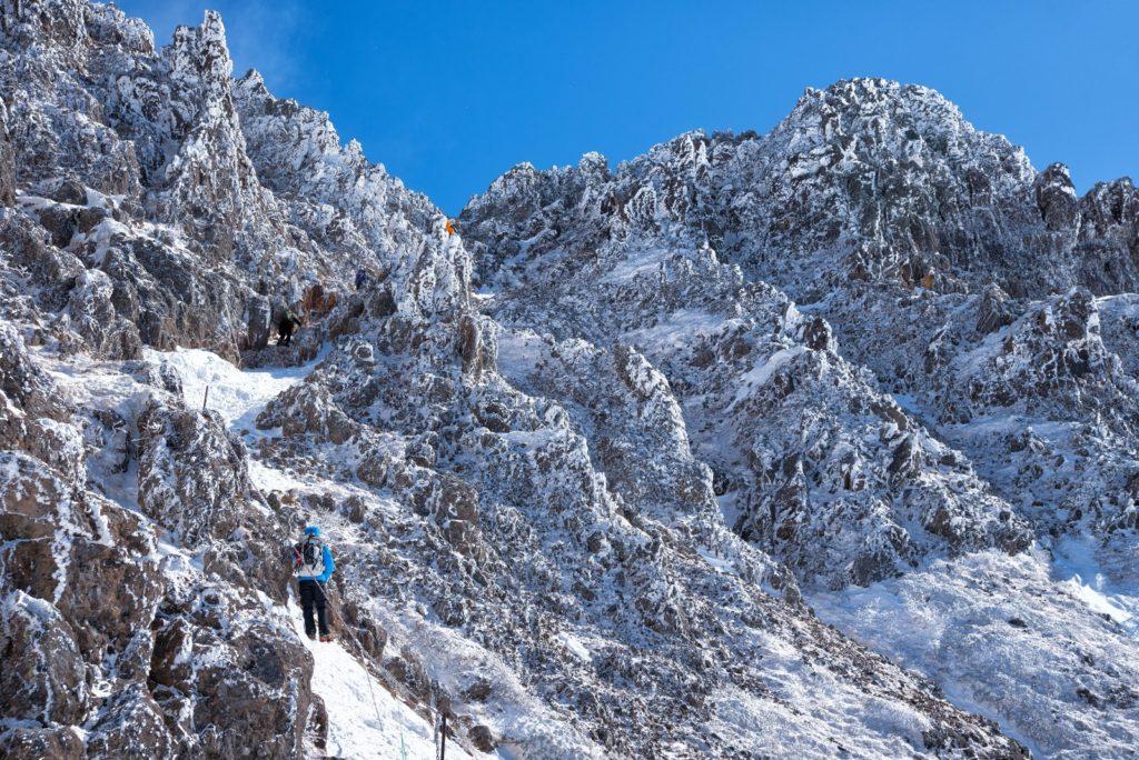 冬の赤岳は、冬山初心者が初めて行って登れるのか?